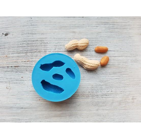 Silicone mold, peanuts, ~ 1.1-3.6 cm
