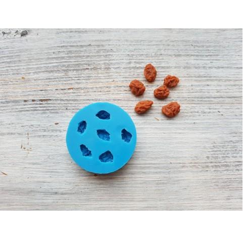 Silicone mold, raisins, 6 pcs., ~ 0.8-1.1 cm