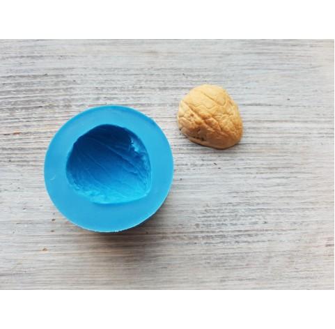 Silicone mold, walnut shell, ~ 3*3.3 cm