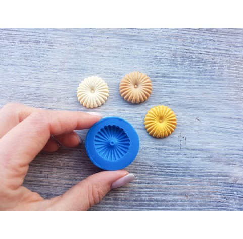 Silicone mold, shortbread cookie, ~ Ø 2.5 cm
