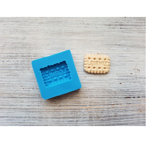 "Silicone mold, cookie ""L"", ~ 1.9*2.1 cm"