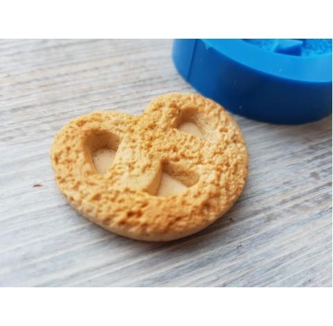 Silicone mold, cookie pretzel, ~ 3*3.7 cm