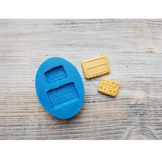 "Silicone mold, cookie set ""B"", 2 pcs., ~ 1.9-2.6 cm"