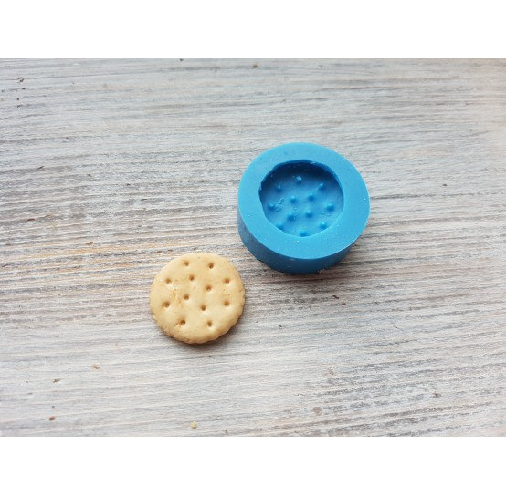 Silicone mold, round cookie, small, ~ Ø 2.4 cm