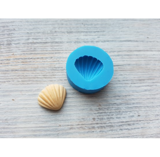 Silicone mold, cookie shell, small, ~ 1.7*2 cm