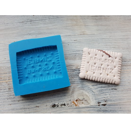 """Silicone mold, cookie """"L"""", large, ~ 4.3*5.5 cm"""