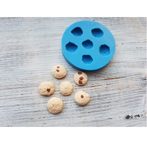 Silicone mold, set of cookies, 6 pcs., ~ 1.6 cm