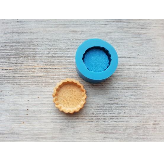 Silicone mold, tartlet round shape, ~ Ø 3.1 cm