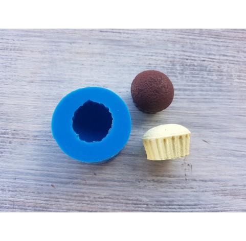 Silicone mold, cupcake, ~ Ø 2.6 cm, ~ H 1.7 cm