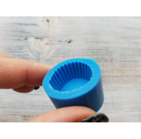 Silicone mold, muffin, ~ Ø 2 cm, ~ H 1.2 cm