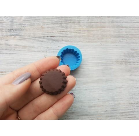 Silicone mold, cupcake, ~ Ø 2.7 cm, ~ H 1.2 cm