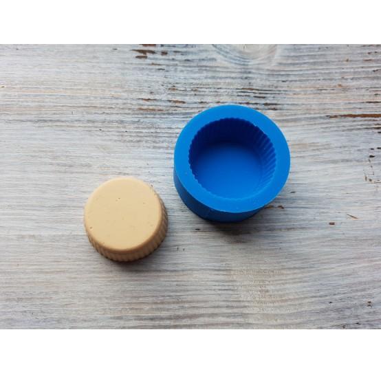 Silicone mold, large cupcake, ~ Ø 3.3 cm