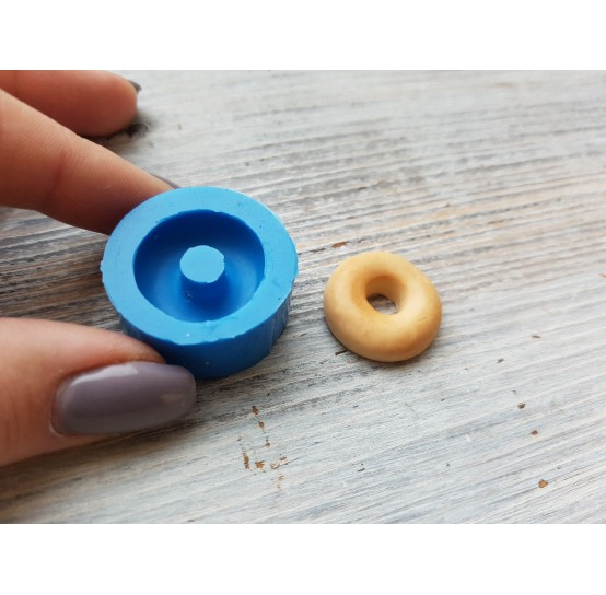 Silicone mold, large donut, ~ Ø 2 cm