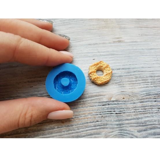 Silicone mold, donut, ~ Ø 1.7 cm