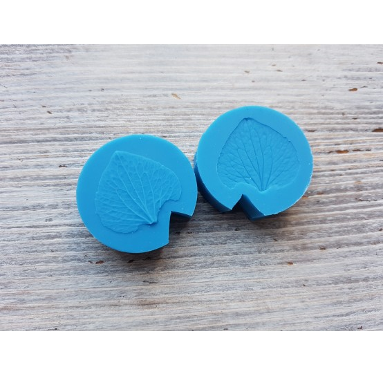 Silicone mold, hydrangea petal, natural, small, (mold size) ~ Ø 3.1 cm