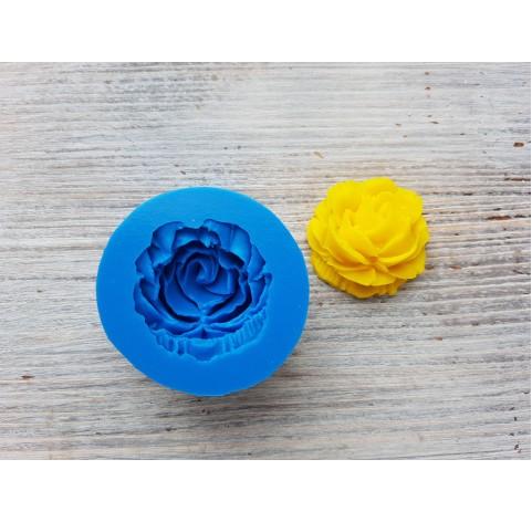 Silicone mold, rose, medium, ~ Ø 3.5 cm