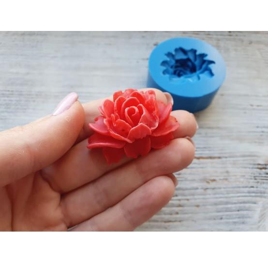 Silicone mold, rose, large, ~ 3*3.7 cm