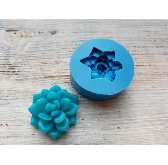 Silicone mold, succulents 2, ~ Ø 3.9 cm