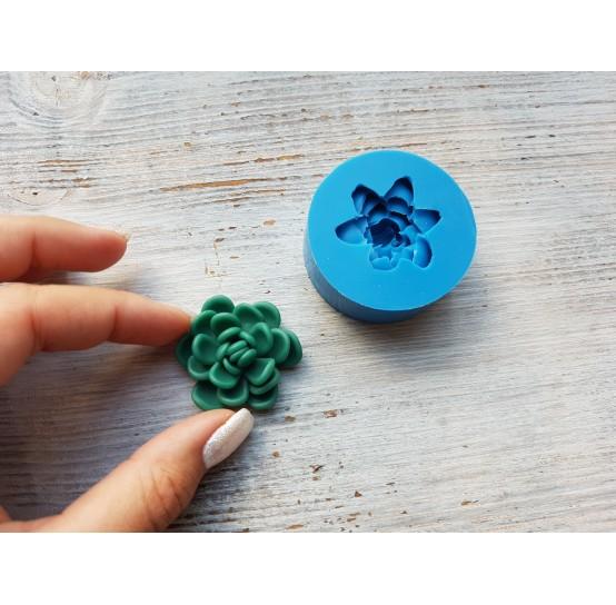 Silicone mold, succulents 3, ~ Ø 3.8 cm
