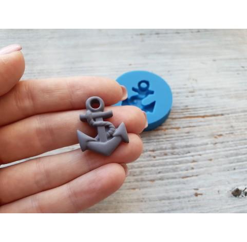 Silicone mold, anchor, small, ~ 2.1*2.8 cm