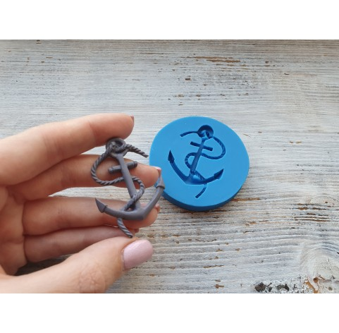Silicone mold, anchor, large, ~ 3.5*5.2 cm