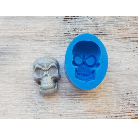 Silicone mold, skull, large, ~ 3.5*5 cm, ~ H 2 cm