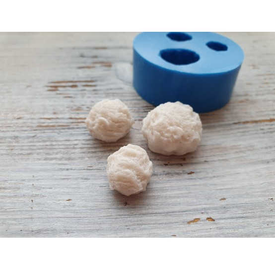 Silicone mold, ice cream, 3 pcs., ~ Ø 2 cm
