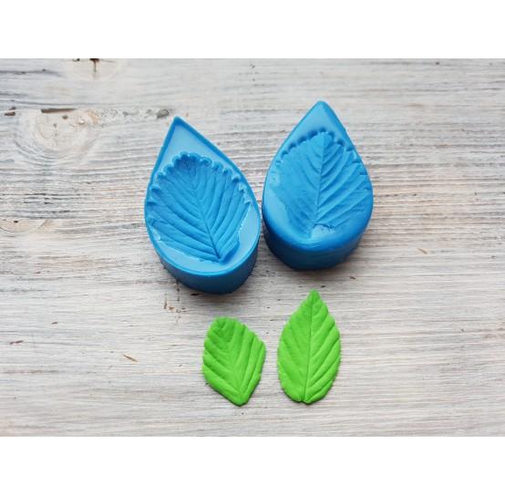 Silicone mold, strawberry leaf, large, (mold size) ~ 3.1*6 cm