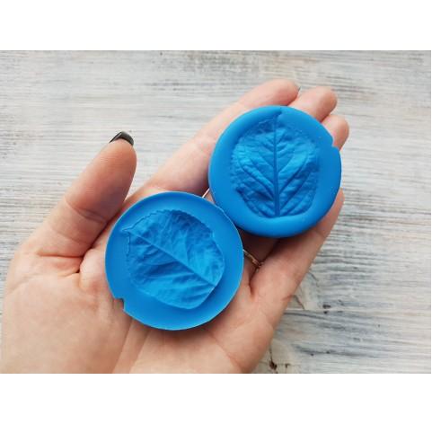 Silicone mold, hydrangea leaf veiner, ~ 3*4 cm