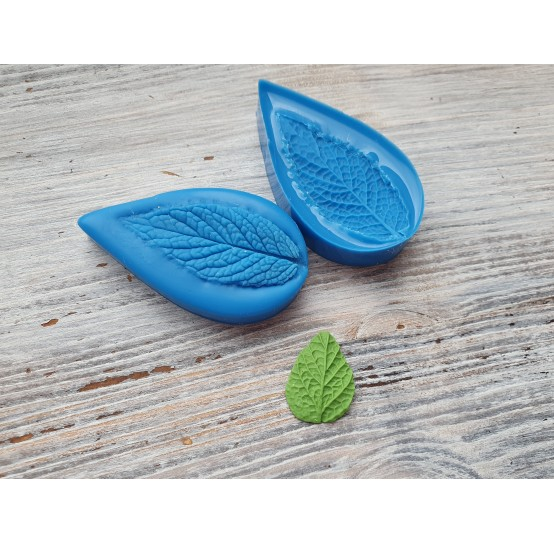 Silicone mold, mint leaf, small, (mold size) ~ 2.7*4.9 cm