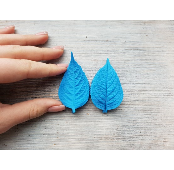 Silicone mold, mint leaf, large, (mold size) ~ 3.5*6.5 cm