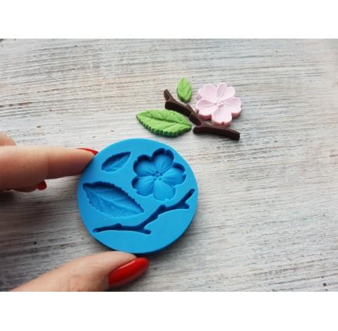 Silicone mold, sakura leaf, ~ 1.6-4.8 cm