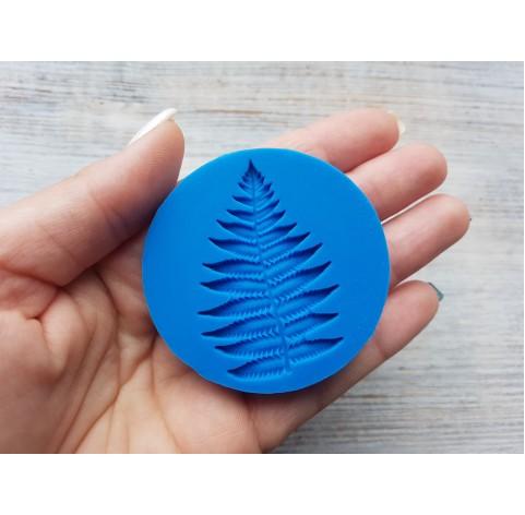 Silicone mold, fern leaf, (mold size) ~ Ø 5.5 cm