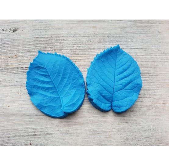 Silicone mold, rose leaf veiner, large, (mold size) ~ 6.2*7.8 cm