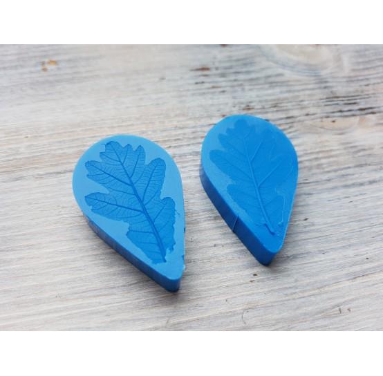 Silicone mold, oak leaf, small, ~ 2.5*4.3 cm