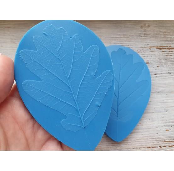 Silicone mold, oak leaf, large, (mold size) ~ 7.3*10.5 cm
