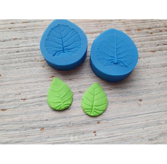 Silicone mold, leaf veiner 3, (mold size) ~ 2.4*2.9 cm
