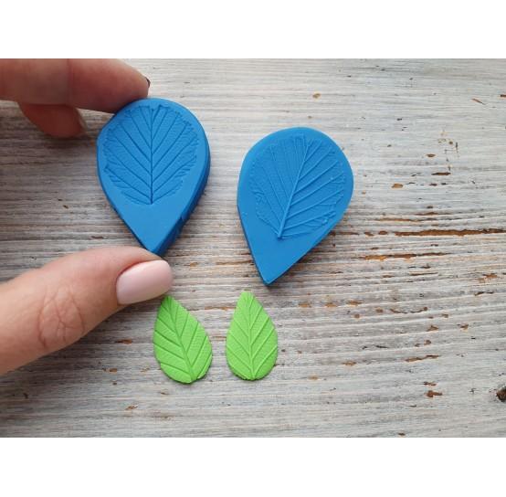 Silicone mold, hazelnut leaf, (mold size) ~ 3*4.5 cm