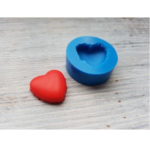 Silicone mold macarons, heart, small, ~ Ø 2 cm