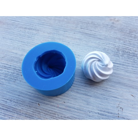 Silicone mold meringue 9, ~ Ø 3.3 cm