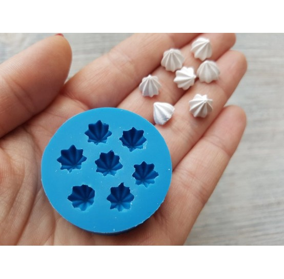 Silicone mold, mini cream, 7 pcs., ~ Ø 0.8 cm