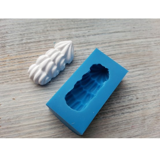 Silicone mold, cream 2, 1.4*3.7 cm