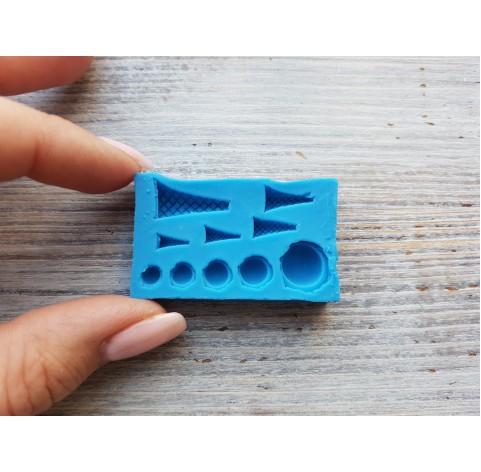 Silicone mold, miniature sweets, mini ice cream, ~ 0.5-1.5 cm