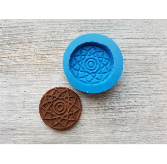 Silicone mold, gingerbread 1, ~ Ø 3.5 cm