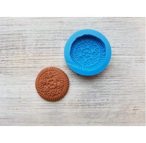 Silicone mold, gingerbread 3, ~ Ø 3.7 cm