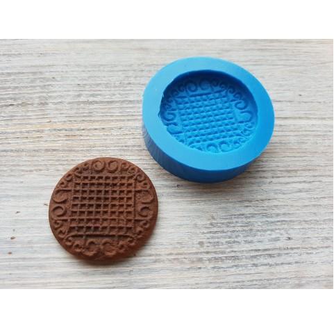 Silicone mold, gingerbread 4, ~ Ø 3.8 cm