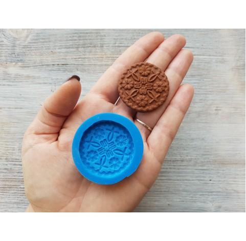 Silicone mold, gingerbread 5, ~ Ø 3.8 cm