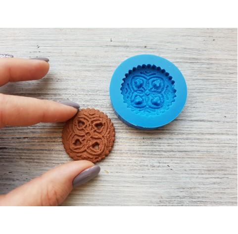 Silicone mold, gingerbread 6, ~ Ø 3.5 cm