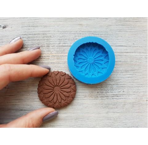 Silicone mold, gingerbread 7, ~ Ø 4.5 cm