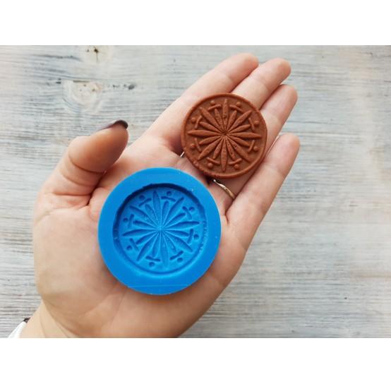 Silicone mold, gingerbread 8, ~ Ø 4.2 cm